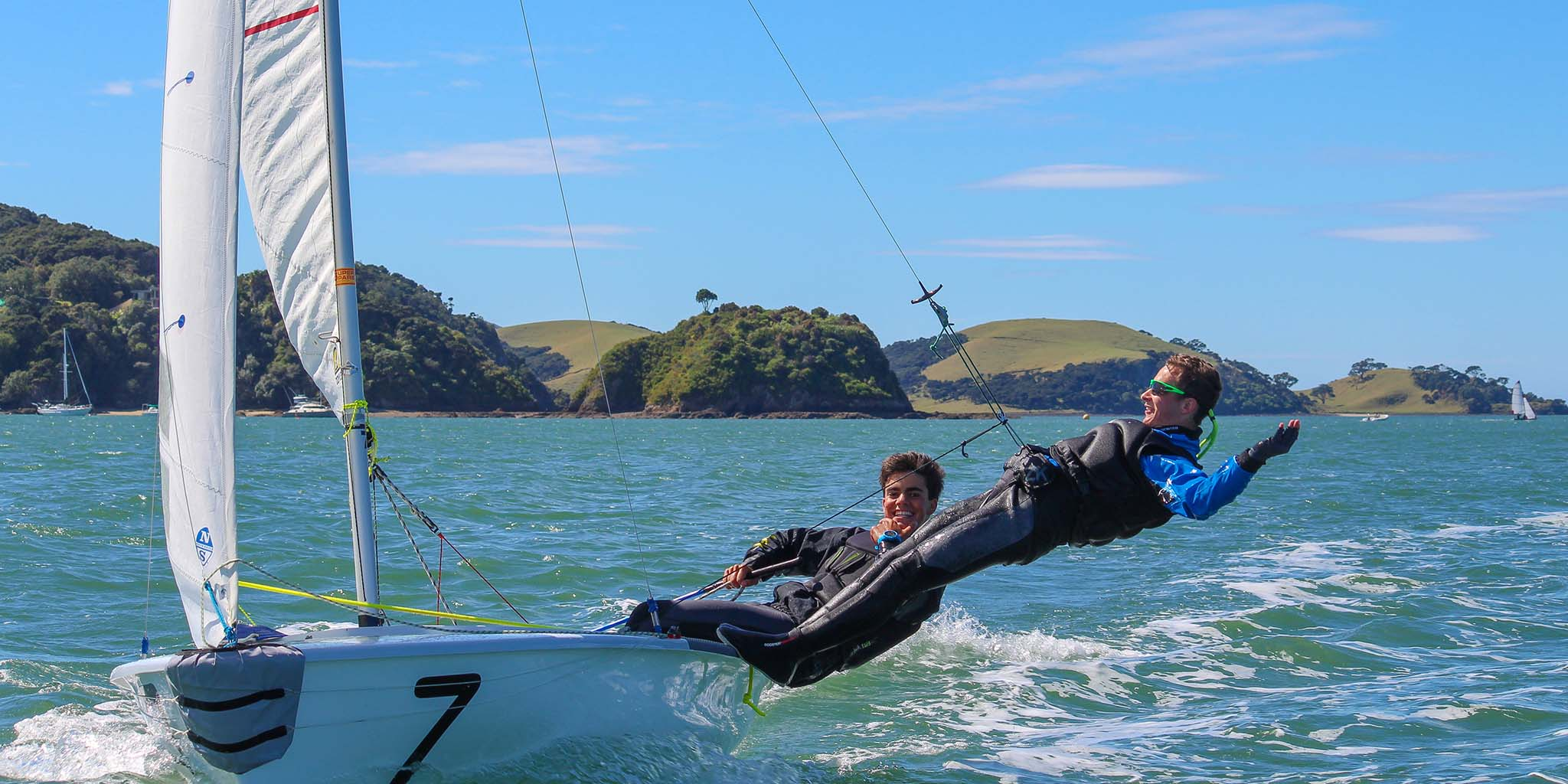 Join our world famous Sailing Academy